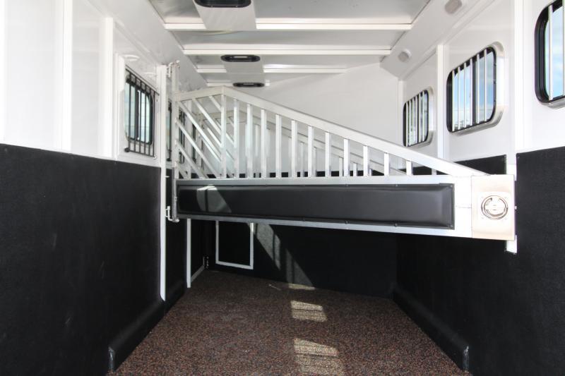 2018 Trails West Classic 10x10 - Side Tack - Slide - 10' SW 3 Horse Living Quarters Trailer - PRELIMINARY PHOTOS