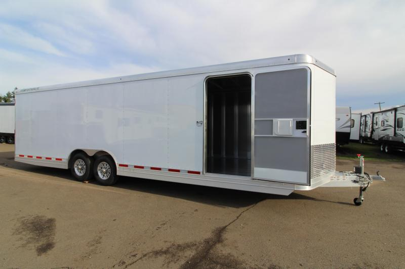 "2019 Featherlite 4926 28' Car Trailer - All Aluminum - Rear Ramp with Cable Assist - 8'6"" Wide 7' Tall"