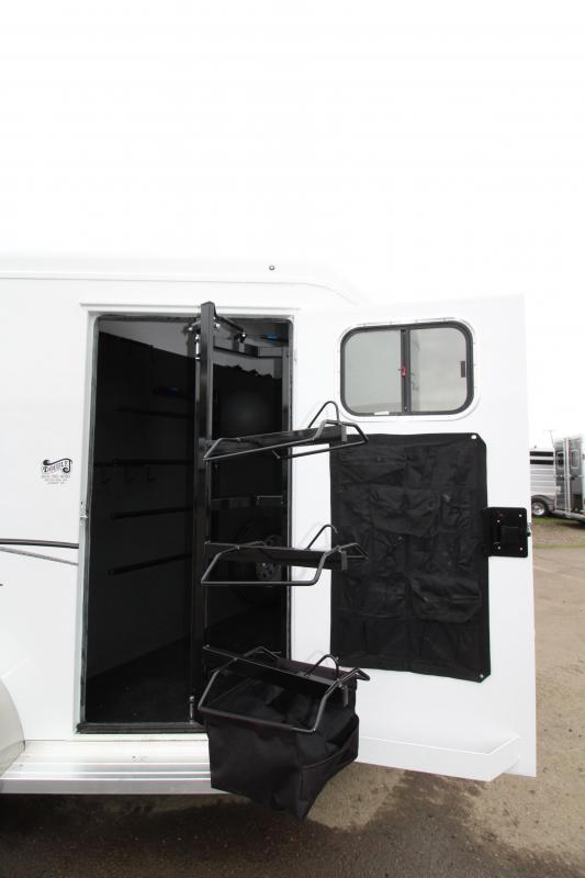"""2019 Trails West Classic 2 Horse Trailer- 7'6"""" Tall"""