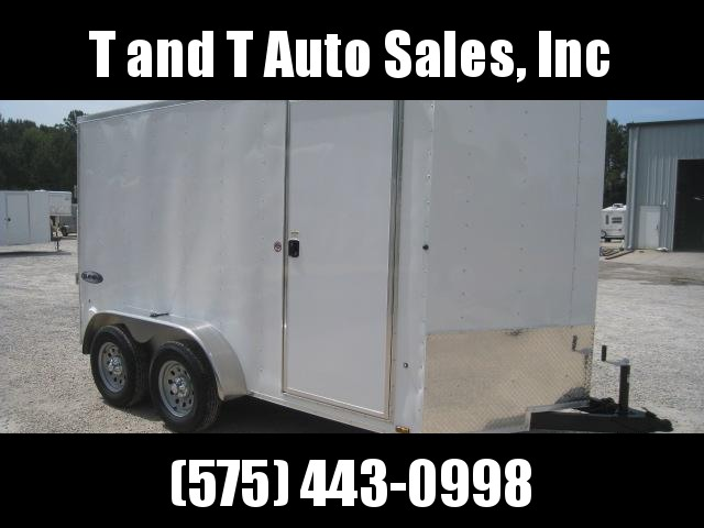 2018 Look Trailers 6X12 ST Enclosed Cargo Trailer