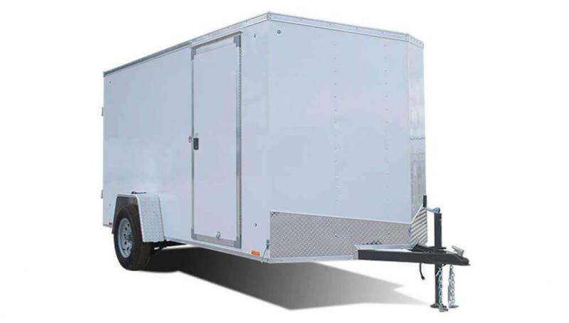 2018 Look Trailers EWLC6X12SI2 Flat Top Enclosed Cargo Trailer