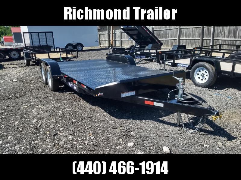 2018 Sure-Trac 7x18 Steel Deck Car / Racing Trailer