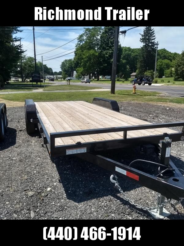 2018 Sure-Trac 7x20 C Channel Car / Racing Trailer
