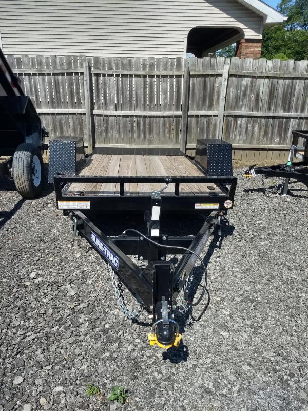 2017 Sure-Trac 5x8 Tilt Bed Equipment Trailer