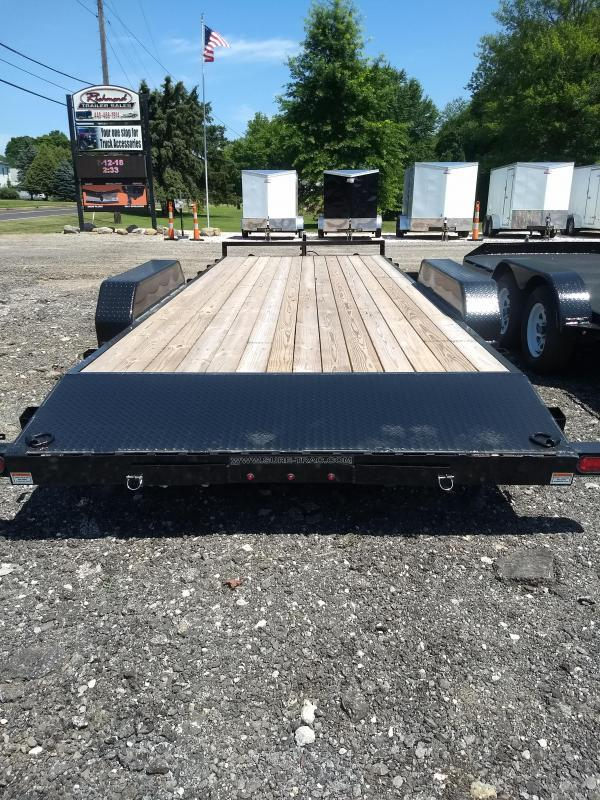 2019 Sure-Trac 7x20 10K C Channel Car / Racing Trailer