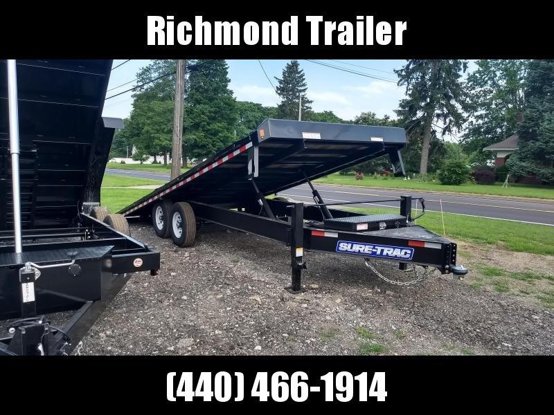 2019 Sure-Trac 8.5x22 Power Tilt Deckover Flatbed Trailer