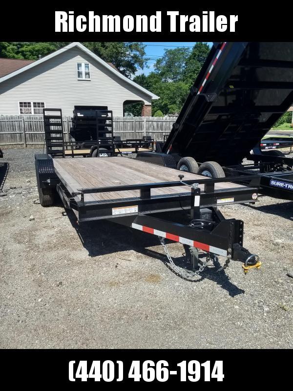 2018 Sure-Trac 7x20 Implement Equipment Trailer