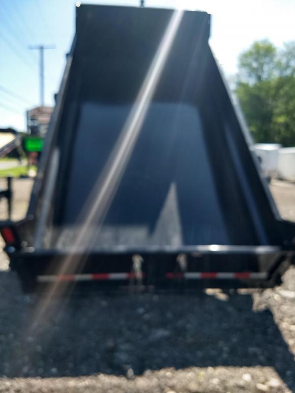 2019 Sure-Trac 7x14 HD Low Profile Dump Trailer