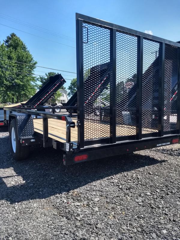 2018 Sure-Trac 6x12 Tube Top Utility Trailer