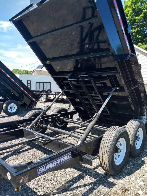 2018 Sure-Trac 7x12 HD Low Profile Base Dump Trailer