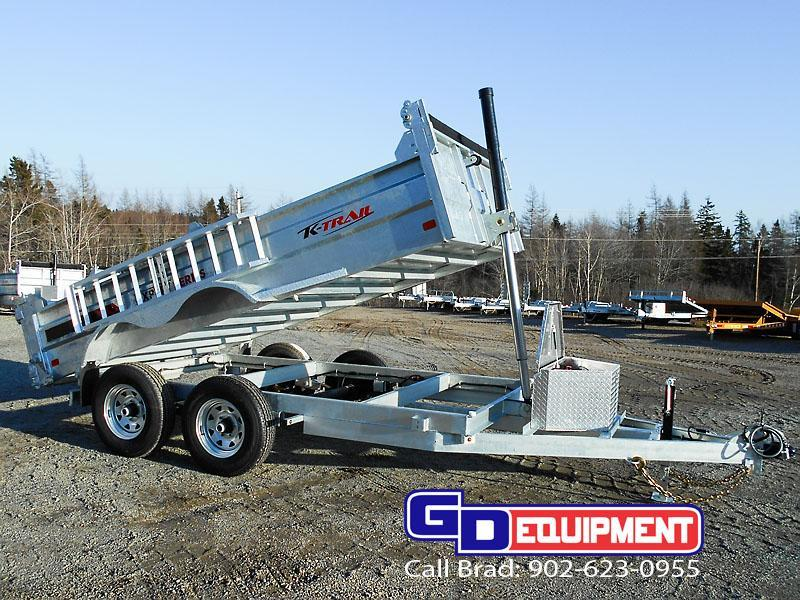10000 Lb Car Lift >> 2018 K Trail 6 x 12 Dump - 10000 LB Galvanized | GD Equipment - New Trailers For Sale ...