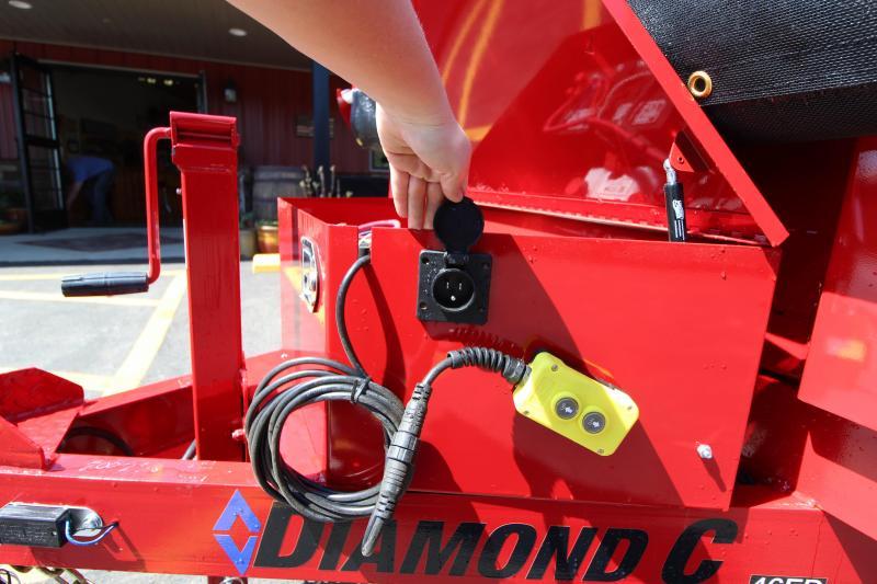 2018 Diamond C 6.5'x12' Dump Trailer
