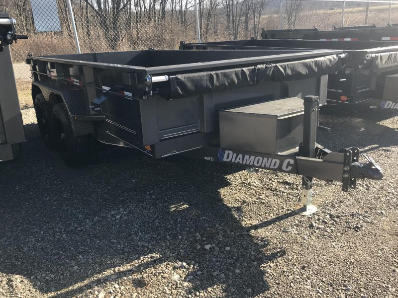 "2019 Diamond C 77""x12' Dump Trailer K1206795"