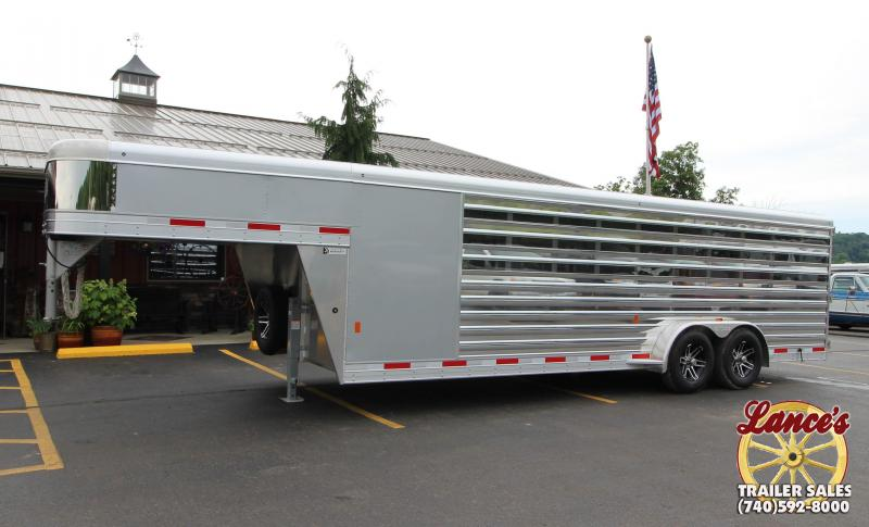 "2019 Exiss ""Exhibitor"" 24' Livestock Trailer w/Air Gaps"
