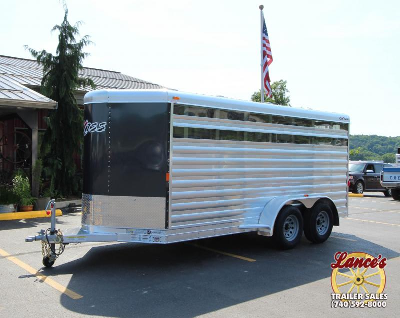 2019 Exiss Mini Exhibitor 15' Livestock Trailer