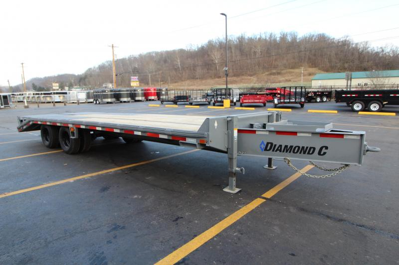 "2019 Diamond C 102""x25' Pintle Equipment Trailer K1205602"