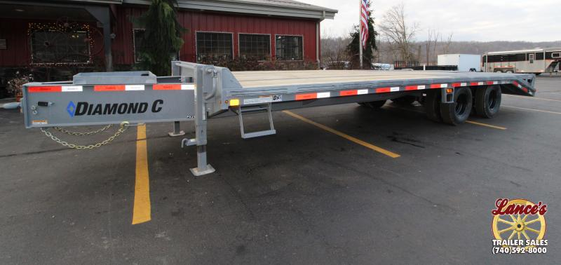 "2019 Diamond C 102""x25' Pintle Equipment Trailer K1205602"