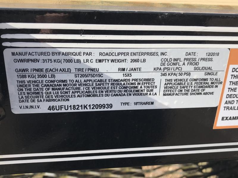 """2019 Diamond C 83""""x18' Open Car Hauler K1209939"""
