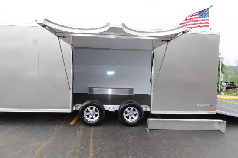 2019 ATC 24' Raven Plus Enclosed Car Hauler