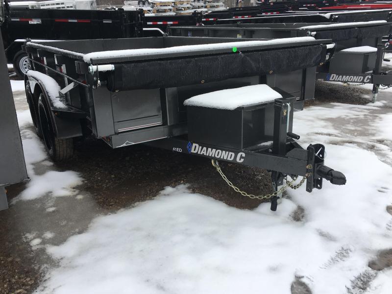 """2019 Diamond C 77"""" X 10' Dump Trailer K1208958"""