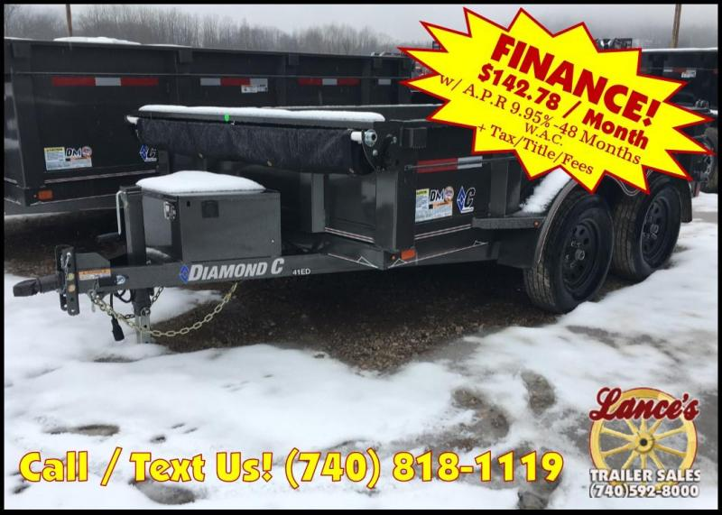 "2019 Diamond C 77"" X 10' Dump Trailer K1208958"