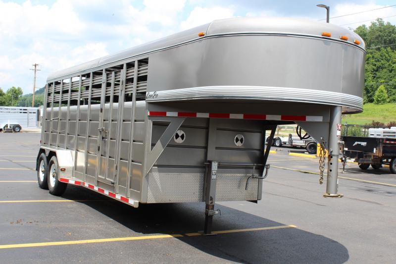 2015 CornPro 18' Livestock Trailer