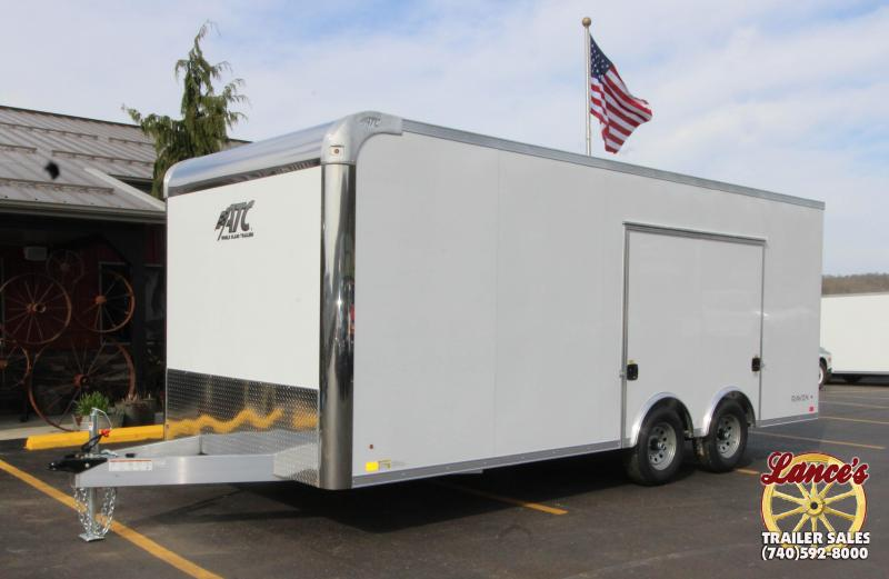2019 ATC 8.5'x20' Enclosed Car Hauler KC217459