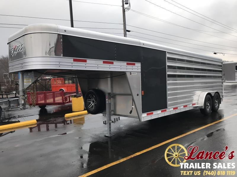 2019 Exiss Exhibitor 20' Low Pro Gooseneck Show Trailer w/ Air Gaps