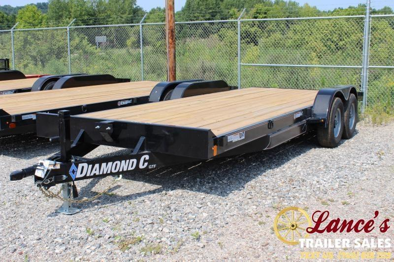 2019 Diamond C Trailers 18X83 OPEN CAR TRAILER Car / Racing Trailer