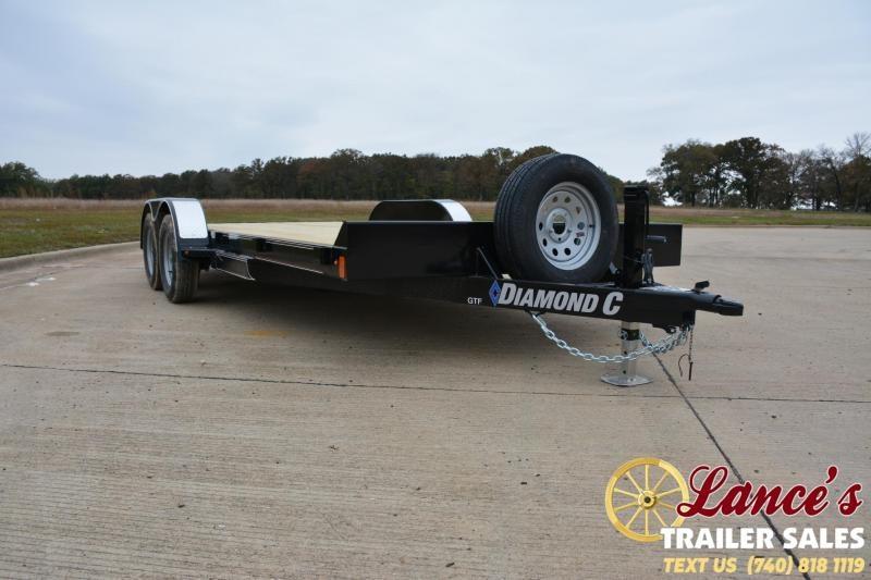 2019 Diamond C Trailers 18X83 OPEN CAR TRAILER Car / Racing Trailer