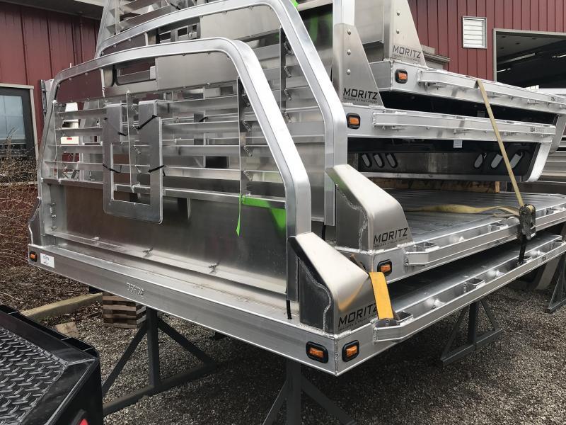 2019 Moritz 8x9.4 Aluminum Truck Bed