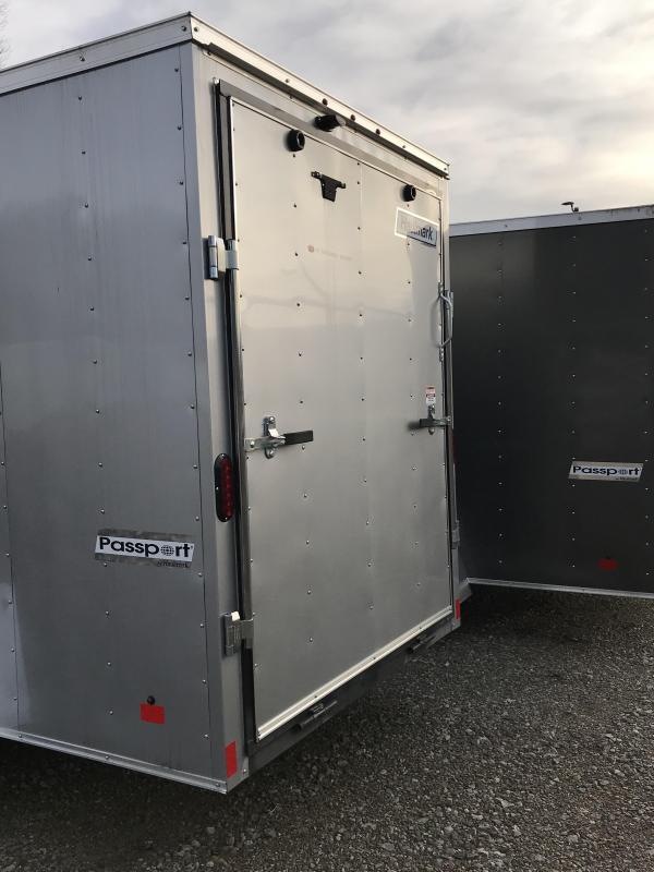 2018 Haulmark Passport 6'x12' Single Axle Cargo Trailer JH369715