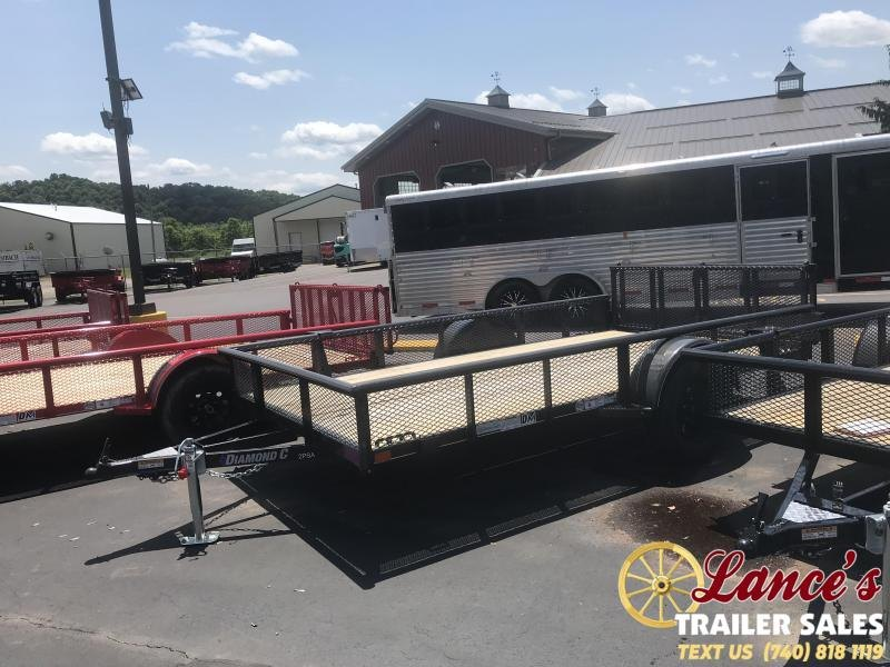 "2019 Diamond C 77""x12' 2PSA Utility Trailer"
