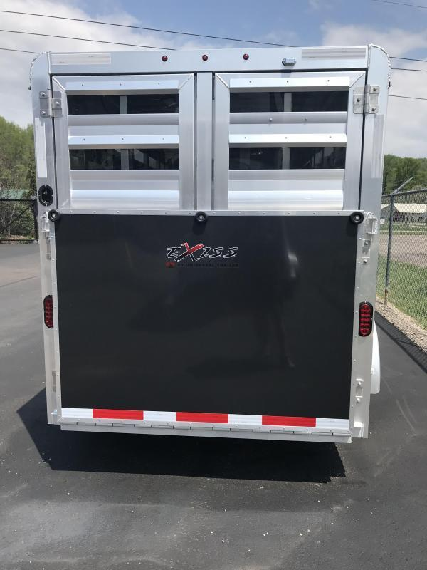 2020 Exiss Mini Combo Exhibitor Low Pro Show Bumper 15' Livestock Trailer K5072341