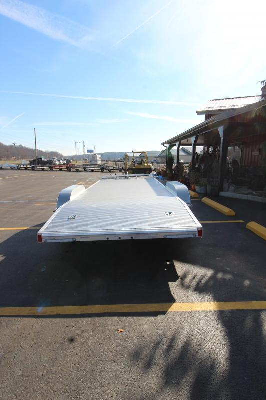 2019 ATC Aluminum 20' Open Car Hauler 7k-Torsion