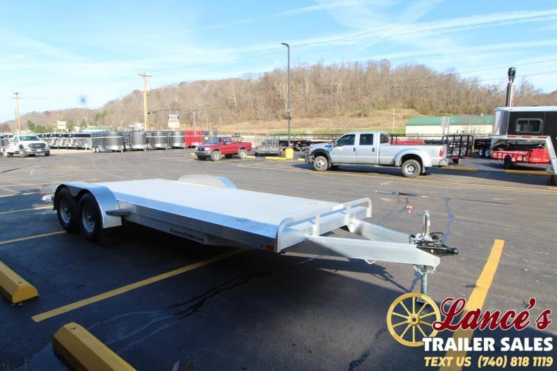 2019 ATC Aluminum 20' Open Car Hauler 7k-Torsion