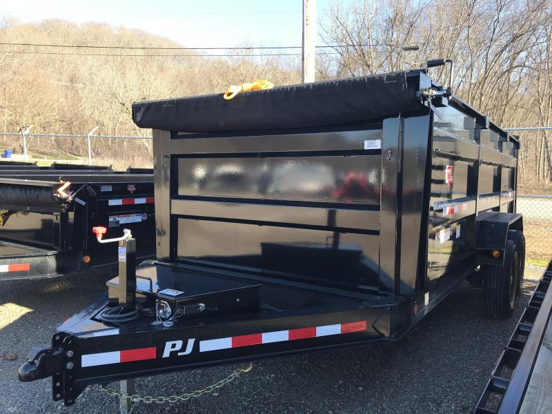 2019 PJ 7'x16' High Side Dump Trailer K3037154