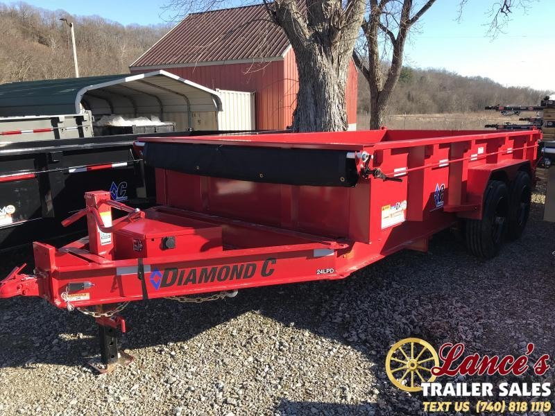 2019 Diamond C 82x14 Dump Trailer