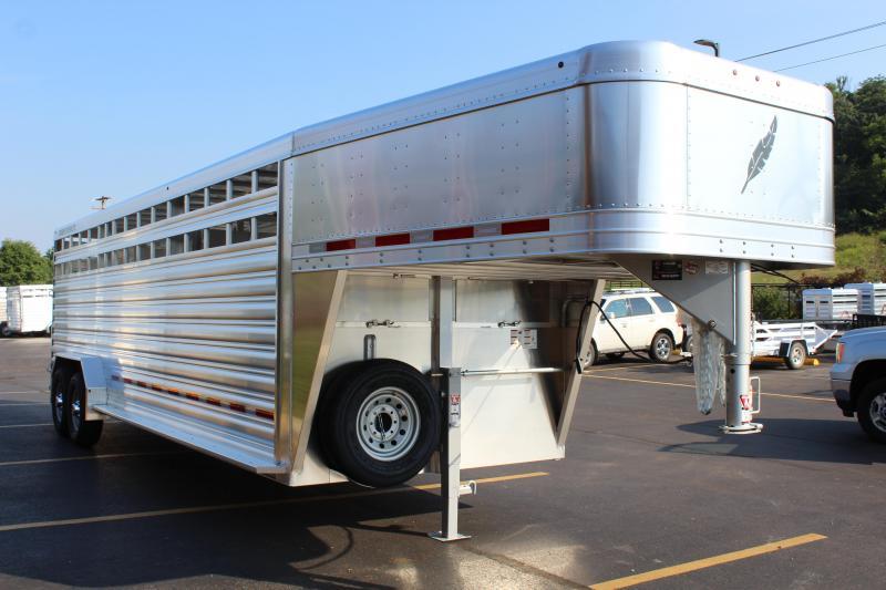 2020 Featherlite 8127 7'x24' Livestock Trailers