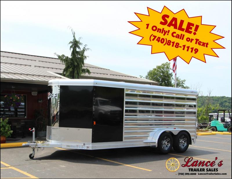 2019 Exiss Exhibitor 16' Lo-Pro Show Bumper Trailer w/ Air Gaps K5071097