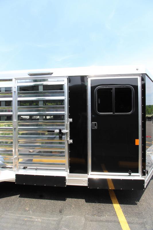 2019 Exiss Exhibitor 16' Livestock Trailer w/ Air Gaps K5071097