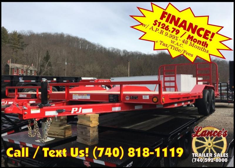 "2019 PJ 102""x20' 5"" Channel Trailer K3036533"