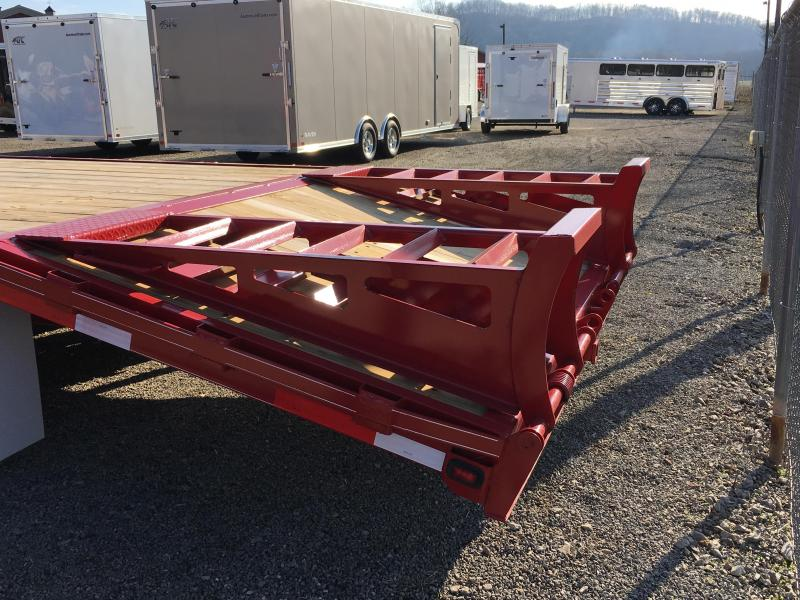 2018 Golden 25' 7K Gooseneck Equipment Trailer JE073281