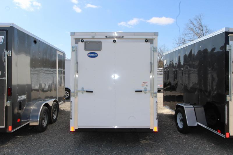 2018 United Trailers XLV-612SA30-S 6X12 Enclosed Cargo Trailer
