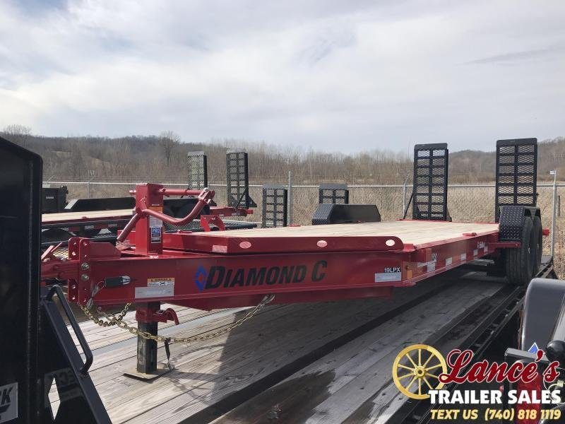 "2019 Diamond C 82"" x 20' Low Pro Equipment Trailer K1206964"