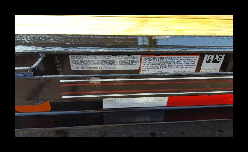 2017 Diamond C 48HDT Tri-Axle 22' Low Profile Equipment Trailer