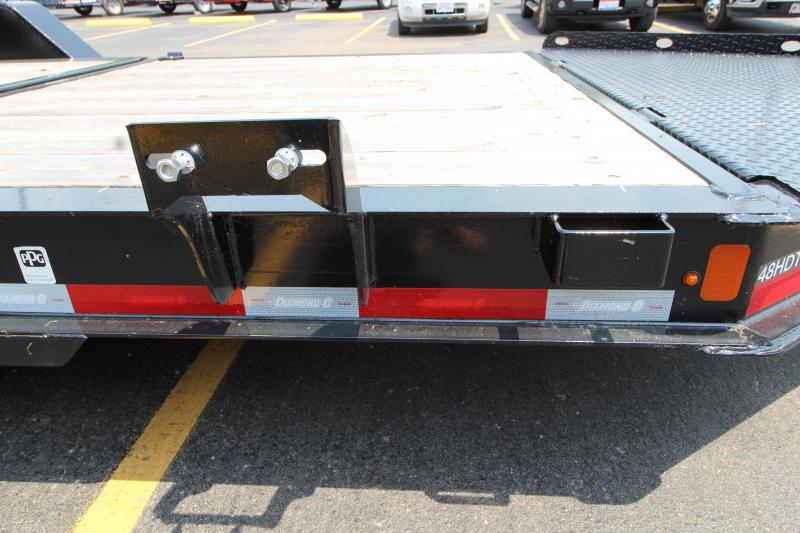 2019 Diamond C 48HDT Tri-Axle 22' Low Profile Equipment Trailer