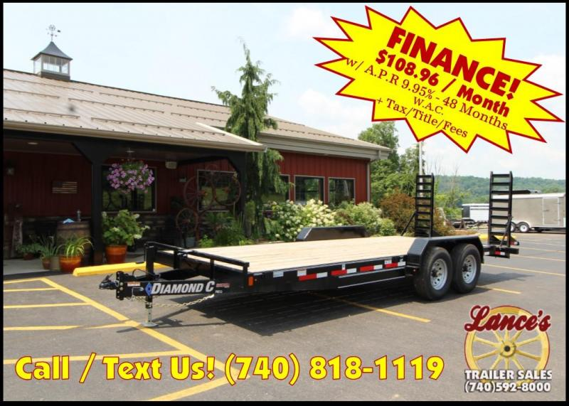 "2018 Diamond C 82""x20' Equipment Trailer J1200875"