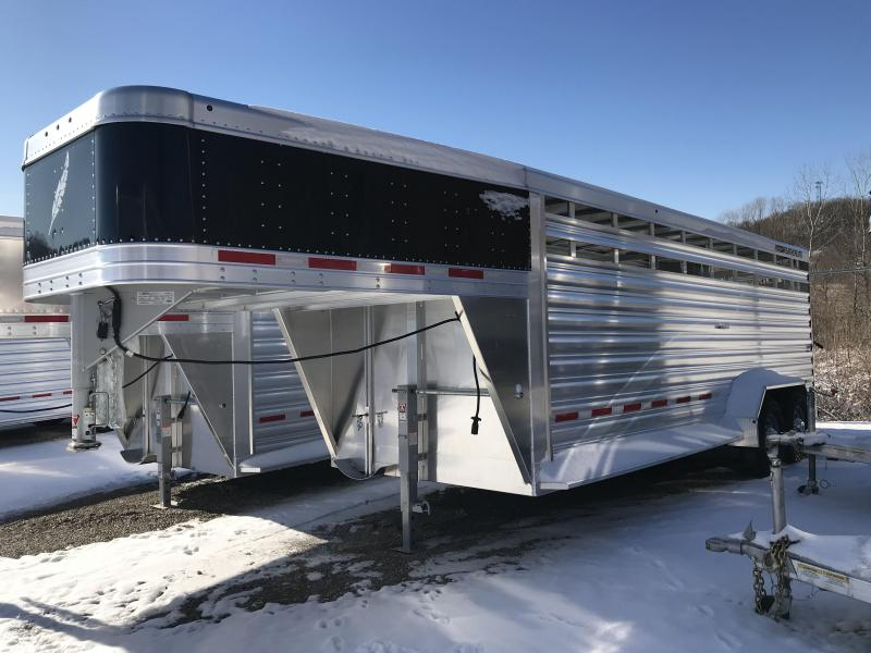 2019 Featherlite 8117 20' Livestock Trailer KC150994