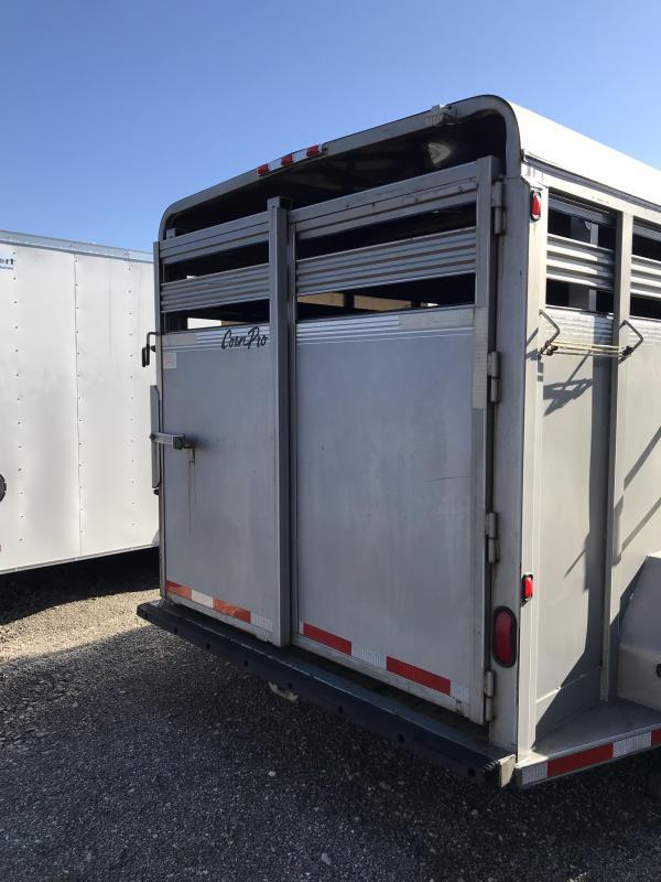2004 CornPro 18' Livestock Trailer 4E038523